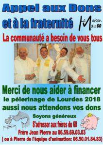 2Affiche Lourdes 2018
